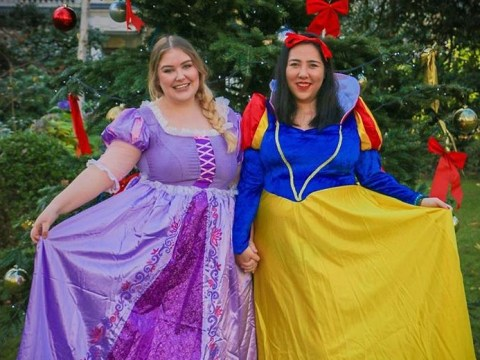 Body-positive bloggers dressed up as princesses to ask Disney for more diversity