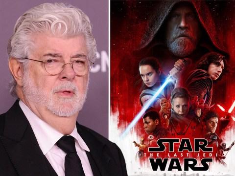 George Lucas is a big fan of 'beautifully made' Star Wars: The Last Jedi