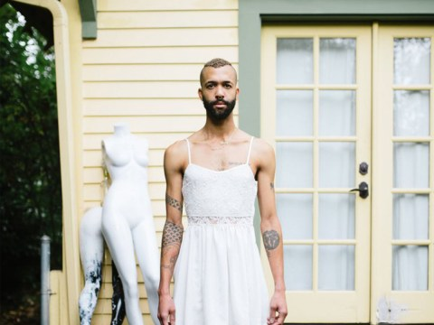 Photo series explores the boundaries of gender by capturing men wearing dresses