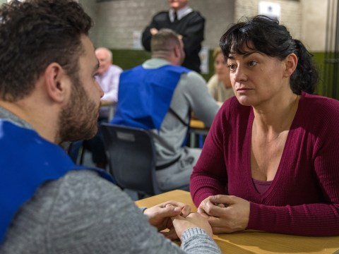 Emmerdale spoilers: Moira pays emotional visit to Adam in prison after murder confession