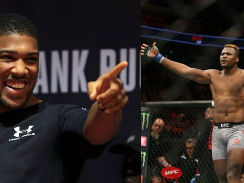 Francis Ngannou will fight Anthony Joshua in a year, claims UFC star's coach