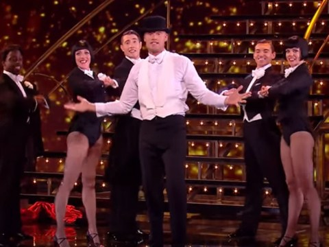 Freddie Flintoff proves he's a bit of a showman in ITV Christmas treat All Star Musicals