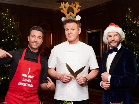 Gordon Ramsay, Gino D'Acampo and Fred Sirieix prove a winning combo on Great Christmas Roast as viewers call for full series