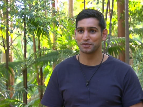 Amir Khan reveals that he doesn't know where Australia is during I'm A Celeb challenge