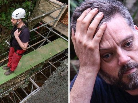 I'm A Celebrity: Iain Lee left in tears after quitting task due to crippling fear of heights