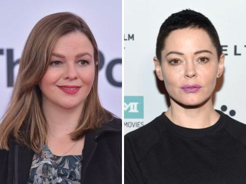 Amber Tamblyn slams Rose McGowan for string of 'below the belt' tweets against women