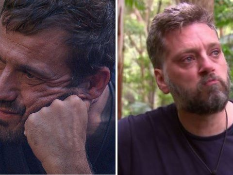 I'm A Celebrity's Iain Lee and Jamie Lomas get emotional after receiving letters from home