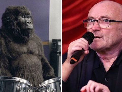 Phil Collins wants you to see in 2018 with classic drum kick from In The Air Tonight