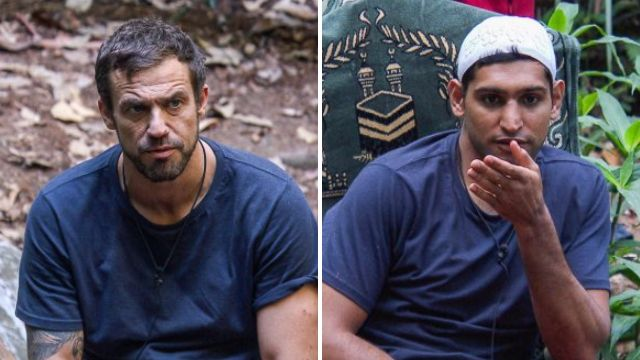Jamie Lomas calls Amir Khan a 'p***y' over strawberrygate as he finishes second on I'm A Celebrity