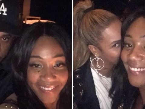 Girls Trip's Tiffany Haddish gets the best selfies with Beyonce and Jay-Z