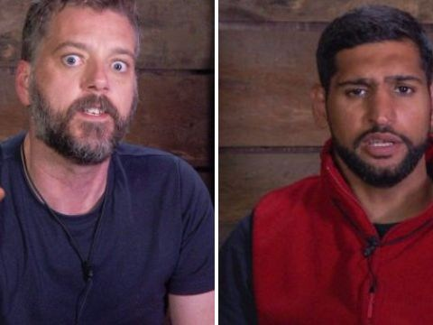 I'm A Celebrity's Iain Lee brands Amir Khan an 'a*****e' over controversial 'f**ked up' comments