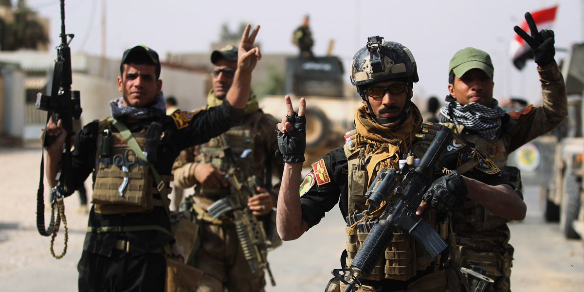 War against Islamic State is over, says Iraqi commander
