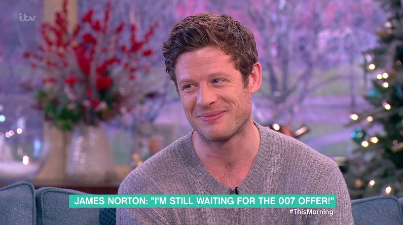 James Norton says role in McMafia isn't an audition for James Bond: 'It's pure speculation'