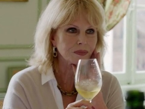 Joanna Lumley and Jennifer Saunders hit the bubbles in Absolutely Champers