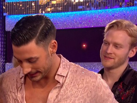 Jonnie Peacock appeared on the Strictly final with newly short hair and viewers couldn't cope