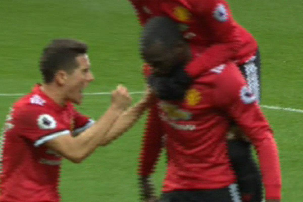 Gary Neville criticises Romelu Lukaku for not celebrating with Manchester United fans