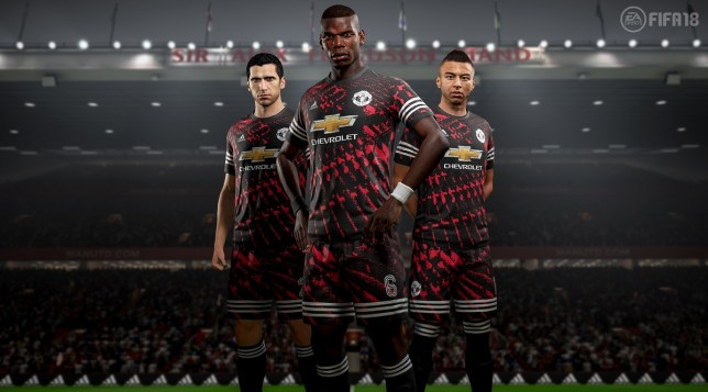 dda85f71059 Manchester United have been given a special FOURTH kit on FIFA 18 ...