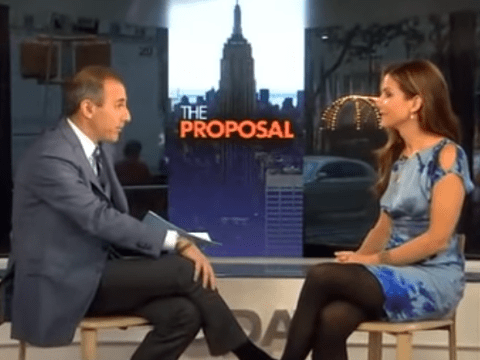 Matt Lauer says 'I've seen you naked' to Sandra Bullock in unearthed 2009 footage