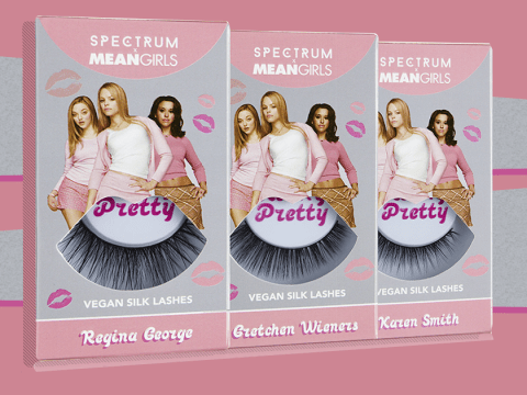 You can now buy Mean Girls inspired false eyelashes and they're so fetch