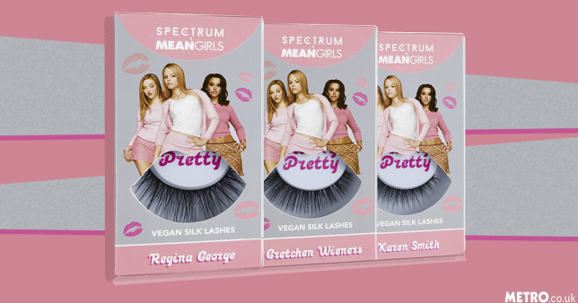 You can now buy Mean Girls inspired false eyelashes picture: metro.co.uk
