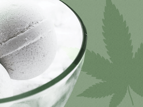 Weed packed bath bombs might be the ultimate in relaxation