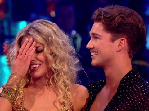 Strictly's Tess Daly makes 'awkward' joke about Mollie King and AJ Pritchard romance rumours