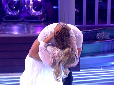 Strictly's Mollie King and AJ Pritchard get awkward as Tess Daly asks if they just kissed on-stage