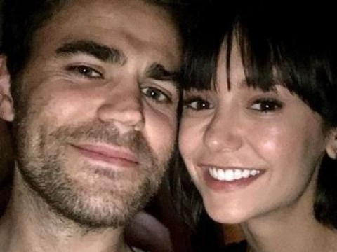 Nina Dobrev and Paul Wesley have the Vampire Diaries reunion we all wanted and needed