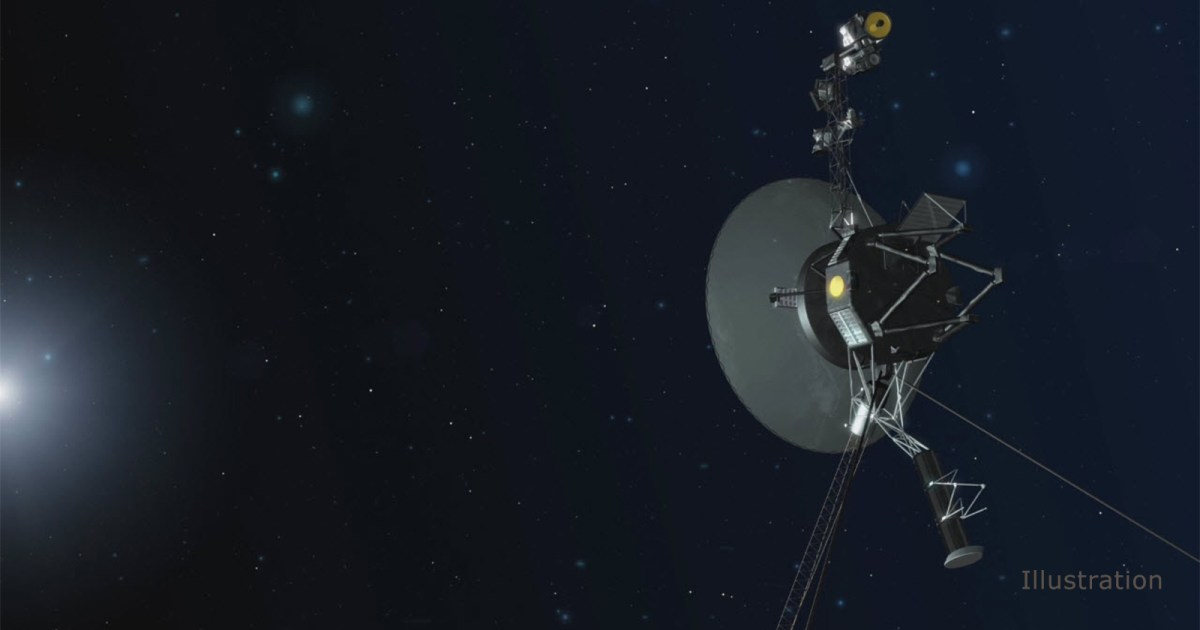 NASA receives transmission from a spacecraft that's 13 billion miles from Earth