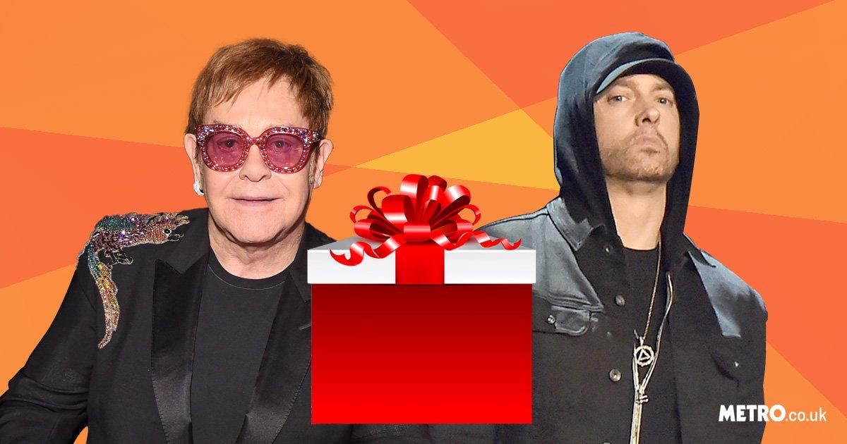 Eminem sent Elton John diamond encrusted sex toys to celebrate his civil partnership