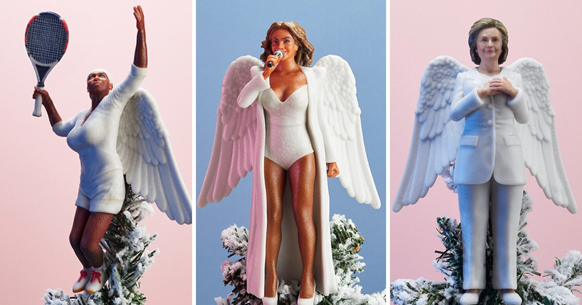 Celebrate 'Resistmas' this year with these badass women on top of your Christmas tree