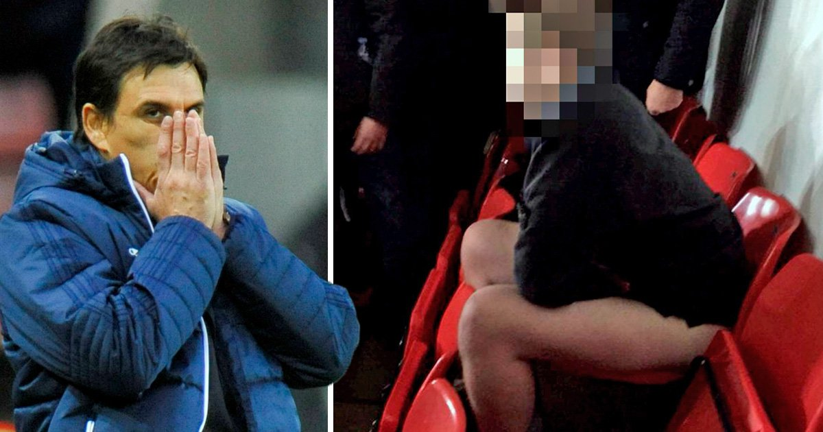 Sunderland fans sickened by supporter who brazenly sat down for a 'poo'