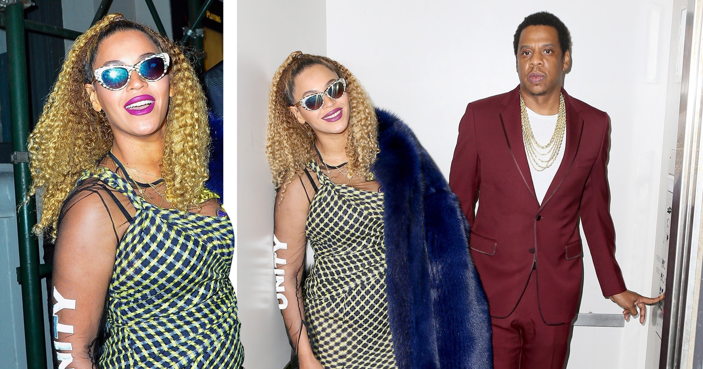Beyonce and Jay-Z are all smiles in a lift three years after that infamous Solange bust-up
