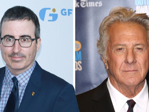 John Oliver confronts Dustin Hoffman on sexual harassment allegations during tense live interview