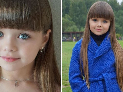 Girl, 6, dubbed 'world's most beautiful girl' by super-creepy Instagram followers