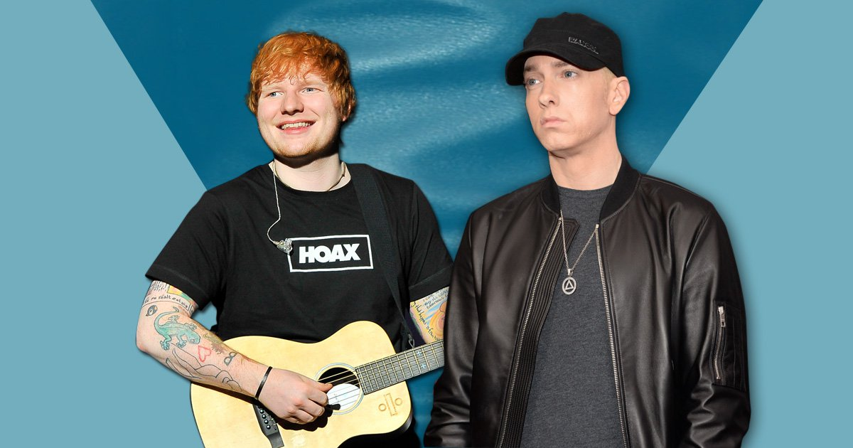 Eminem and Ed Sheeran have collaborated and we are so here for it