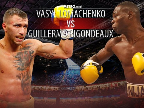 Metro.co.uk Big Fight Preview: Vasyl Lomachenko vs Guillermo Rigondeaux