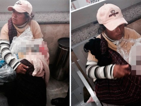 Grieving mother forced to carry dead son in a plastic bag on a bus