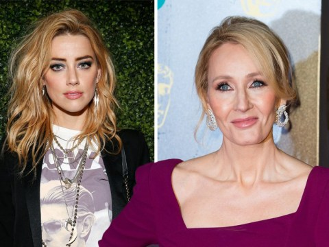 Amber Heard speaks out after JK Rowling defends Johnny Depp's casting in Fantastic Beasts