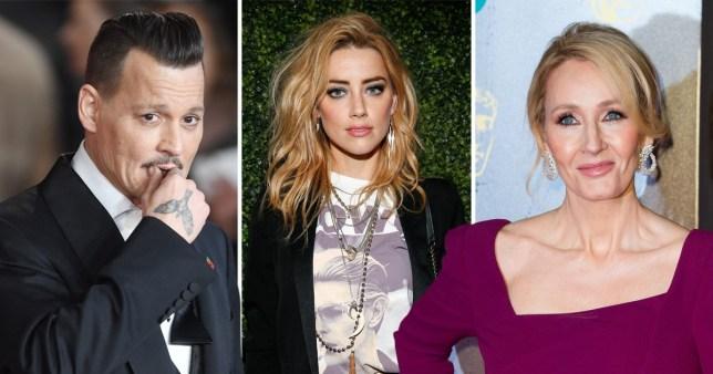 Amber Heard speaks out amid JK Rowling drama