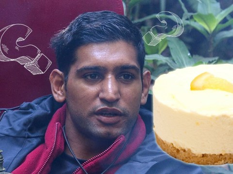 Amir Khan didn't know that cheesecake is made from cheese