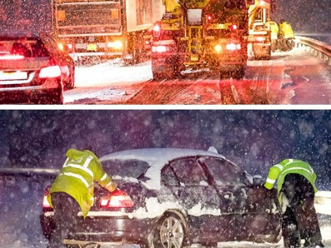 Communities 'cut off' as heavy snow hits large swathes of the UK