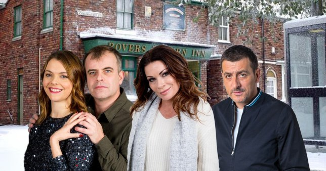Coronation Street Christmas spoilers revealed for Tracy, Steve, Carla and Peter