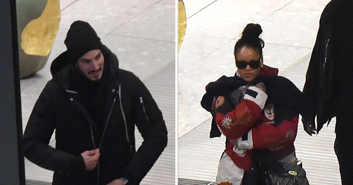 Rihanna and billionaire boyfriend Hassan Jameel still together but pictured in heated conversation