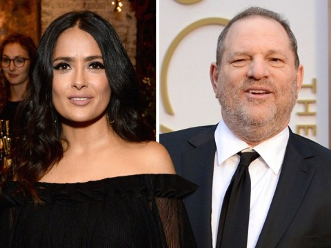 Salma Hayek accuses 'monster' Harvey Weinstein of coercing her into a sex scene with another woman