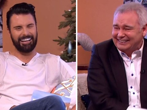 Rylan Clark jokes that he's been sacked from This Morning because of his teeth