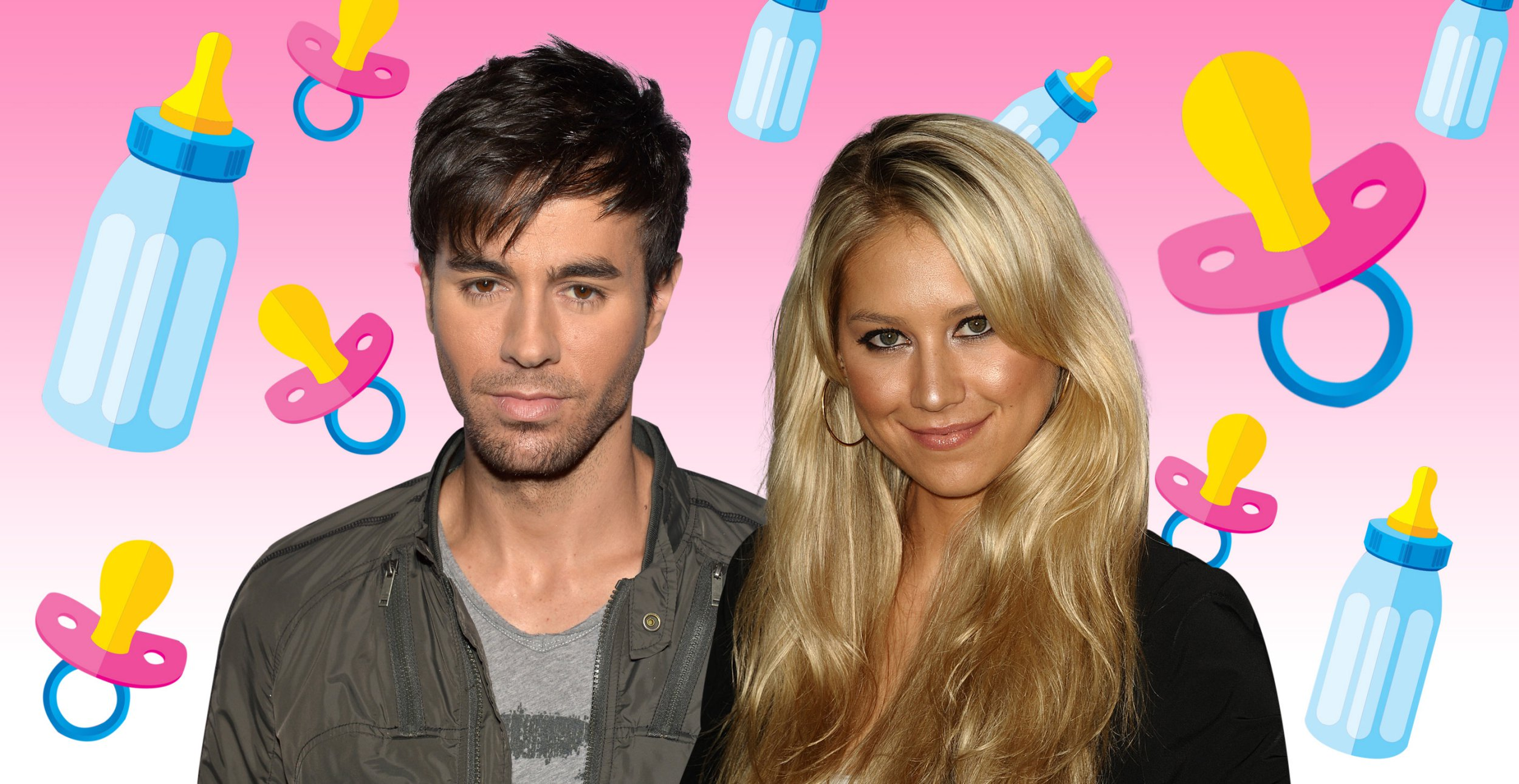 Anna Kournikova welcomes twins with Enrique Iglesias – and nobody even knew she was pregnant