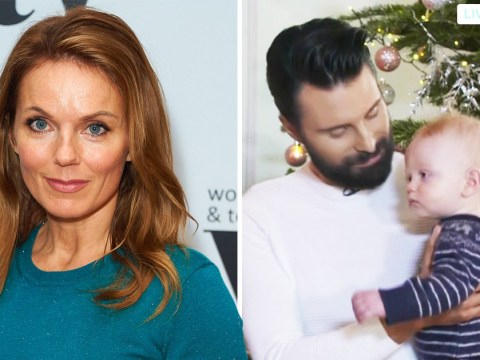 'Baby really suits you!': Fans praise Rylan for cradling Geri Horner's son Monty during George Michael singalong
