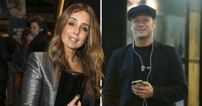 EXCLUSIVE: Kevin Clifton with a beaming smile after meeting up with Louise Redknapp