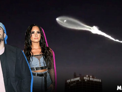 Celebs including Demi Lovato and Orlando Bloom have conspiracy theories over UFO